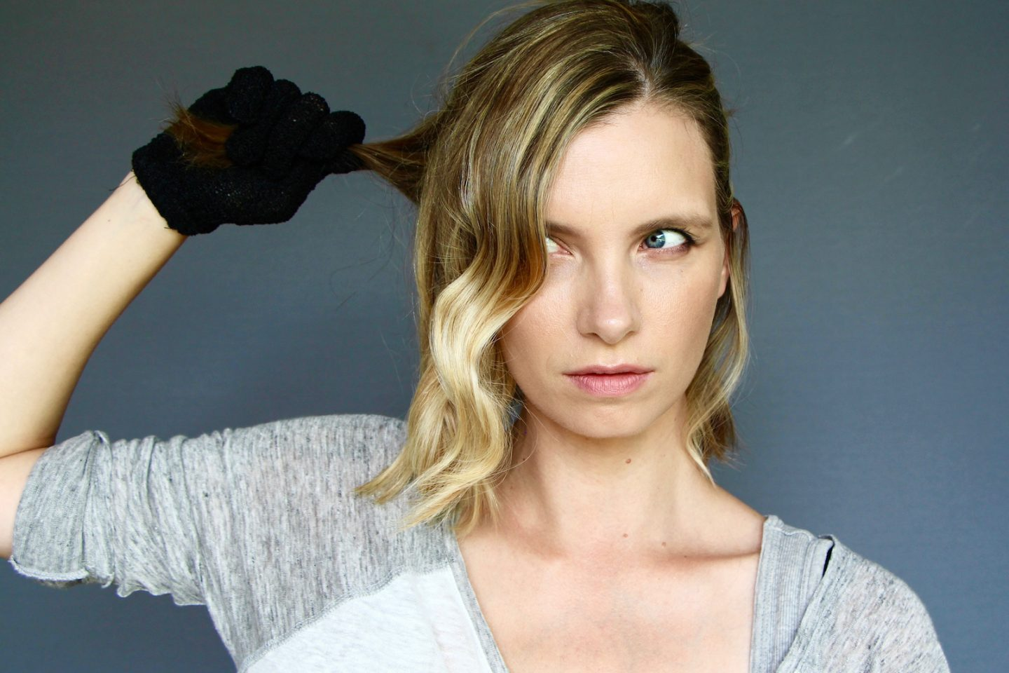 How I Style My Shorter Hair A Model Recommends