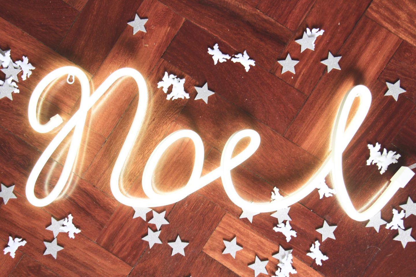 noel neon sign from next