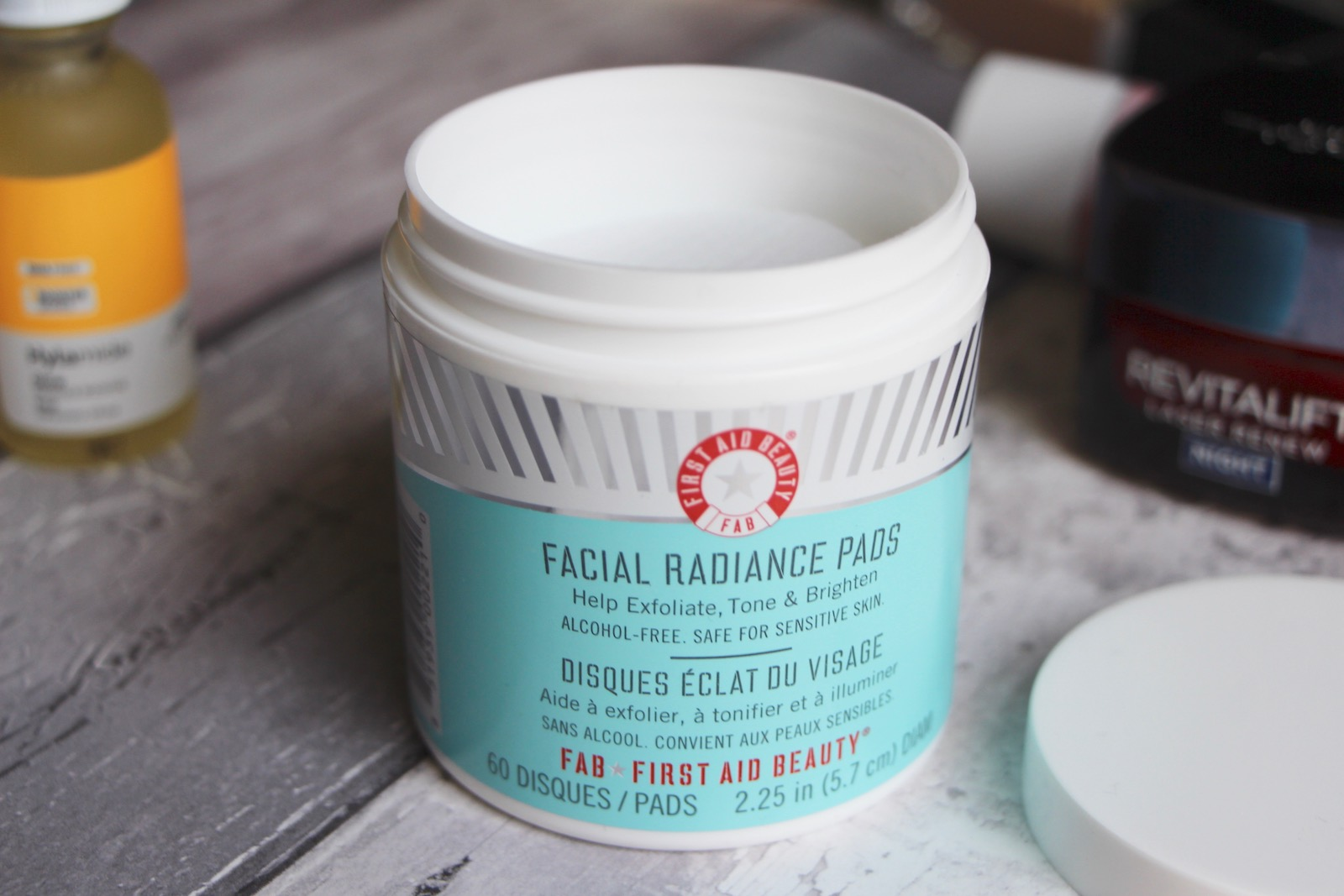 first aid beauty facial radiance intensive peel review