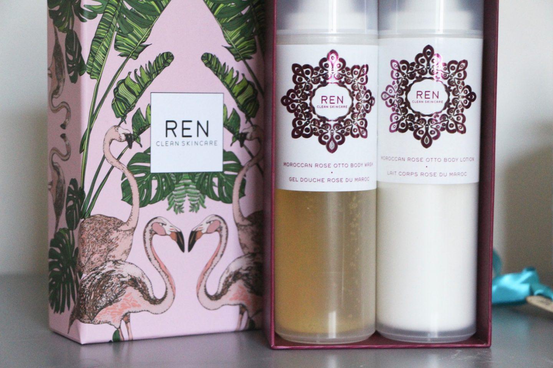 REN silken favours gift set