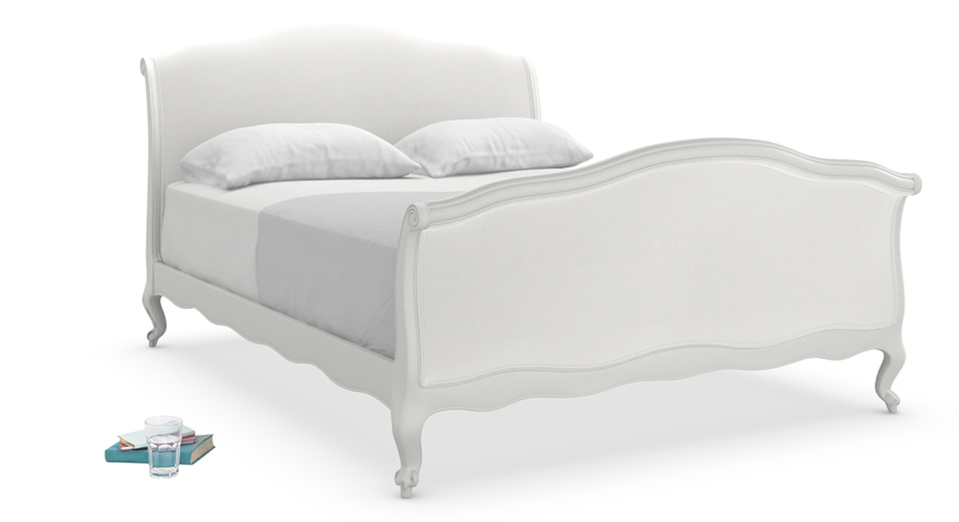 loaf antoinette bed scuffed grey