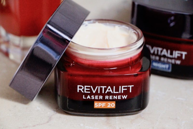 l'oreal revitalift laser renew spf20 review