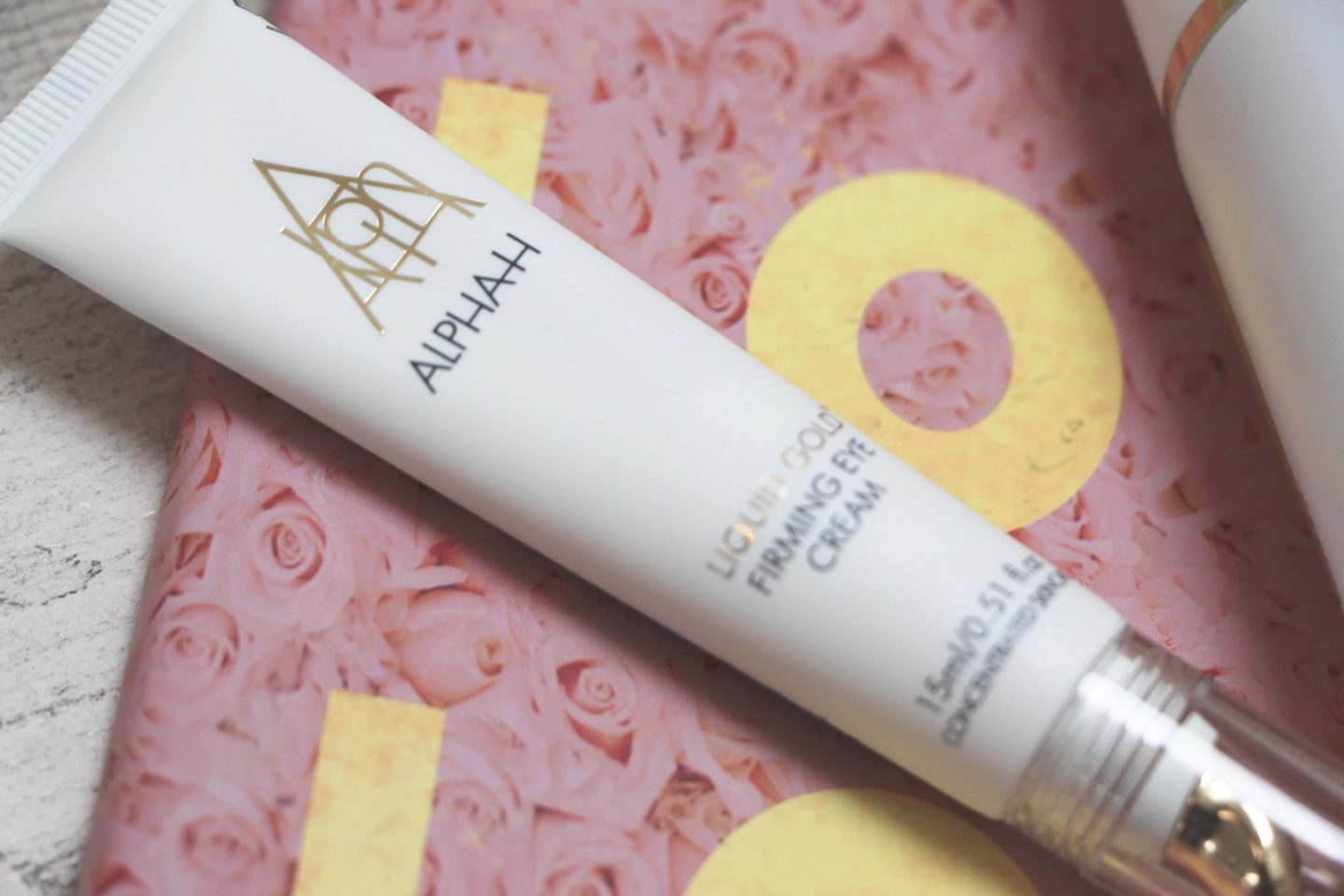 alpha-h liquid gold firming eye cream
