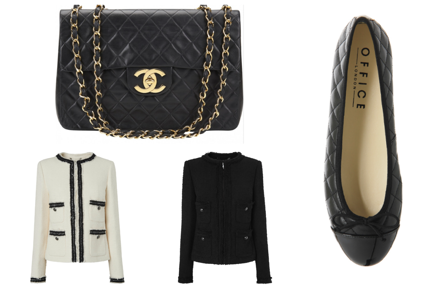 how to get the chanel look