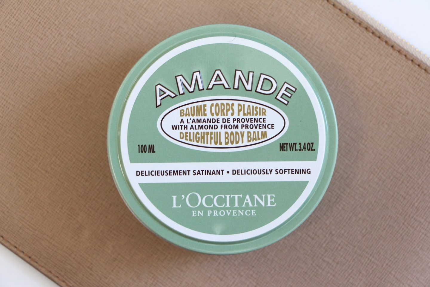 l'occitane amande body balm body cream review