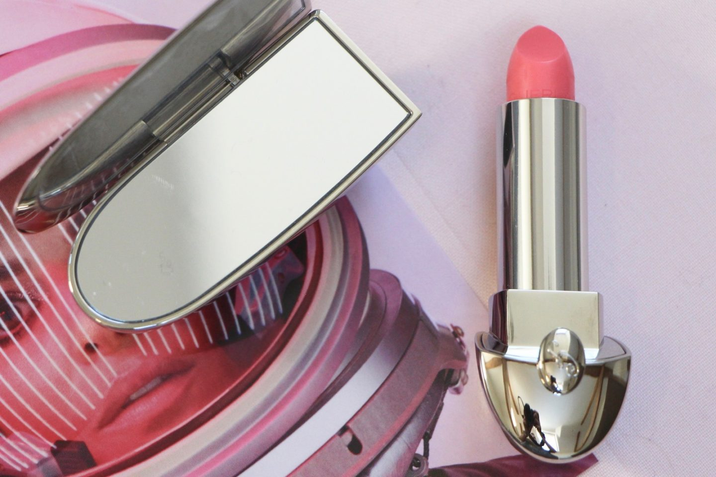 Guerlain Rouge G de Guerlain Lipstick and Case