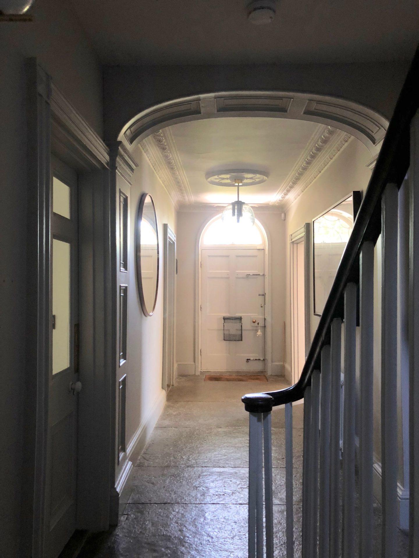 georgian hallway
