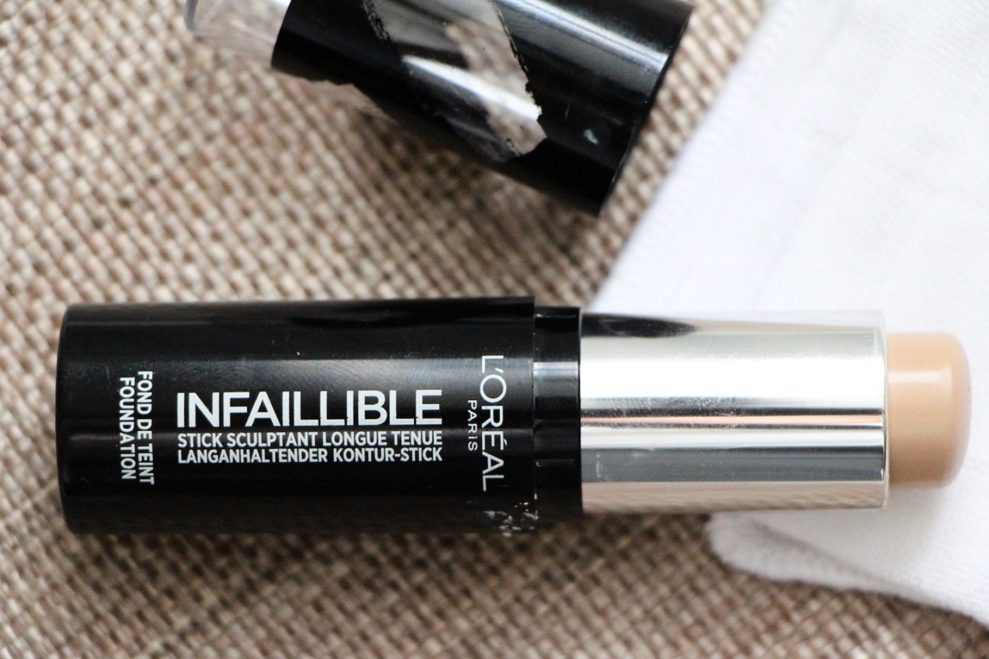 l'oreal infallible foundation stick review