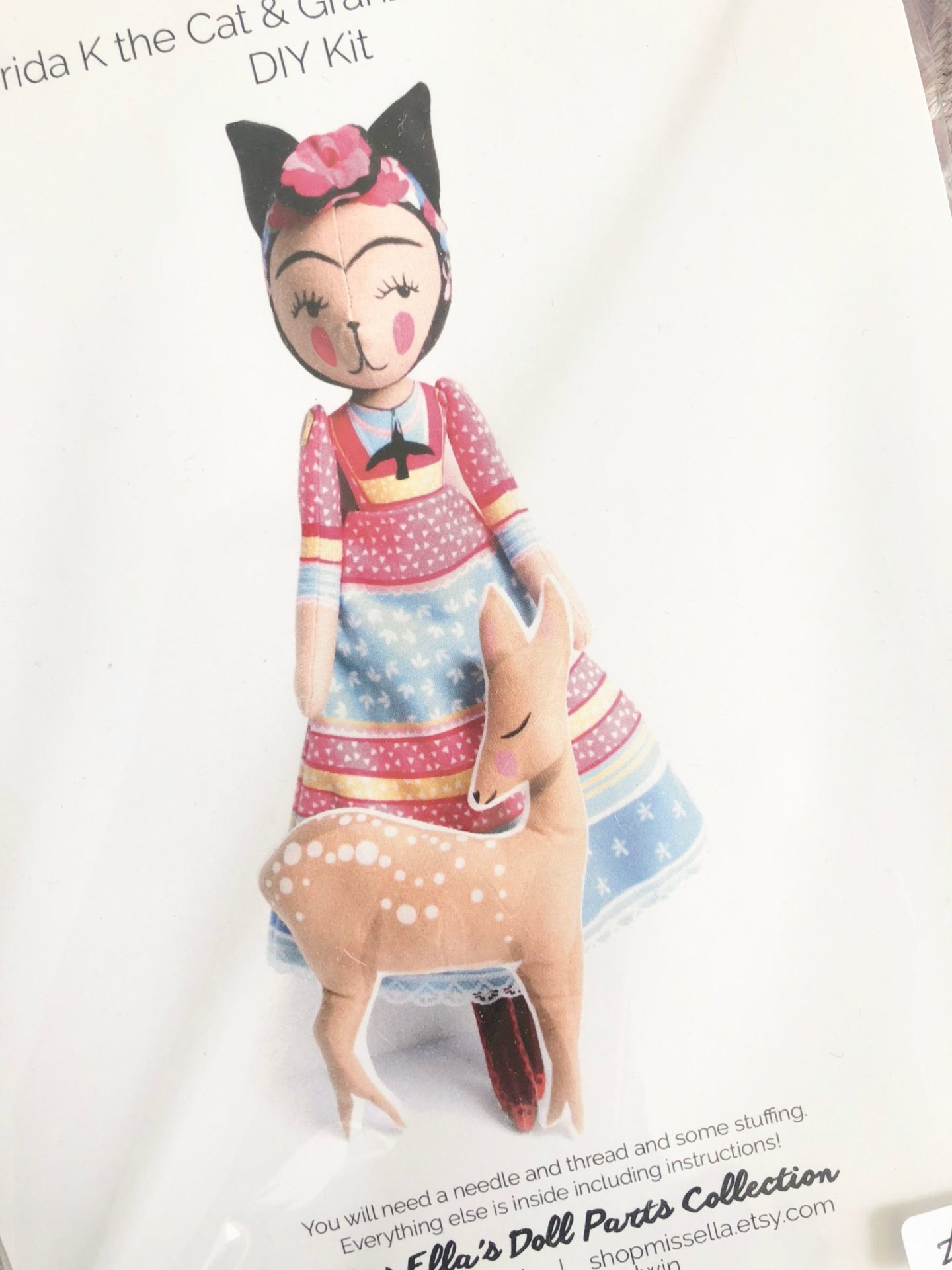 miss ellas doll diy kit