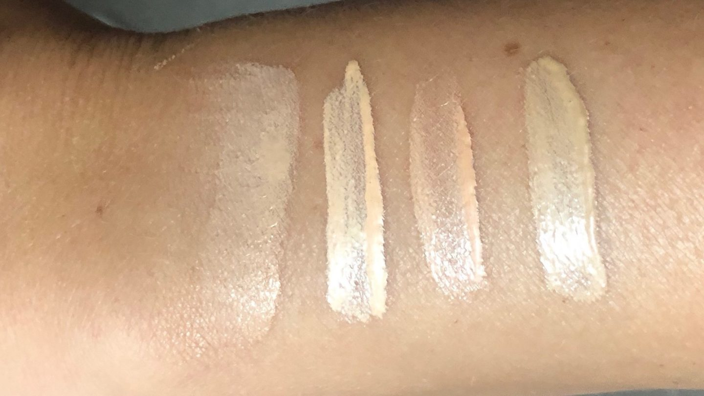 charlotte tilbury hollywood flawless filter swatches