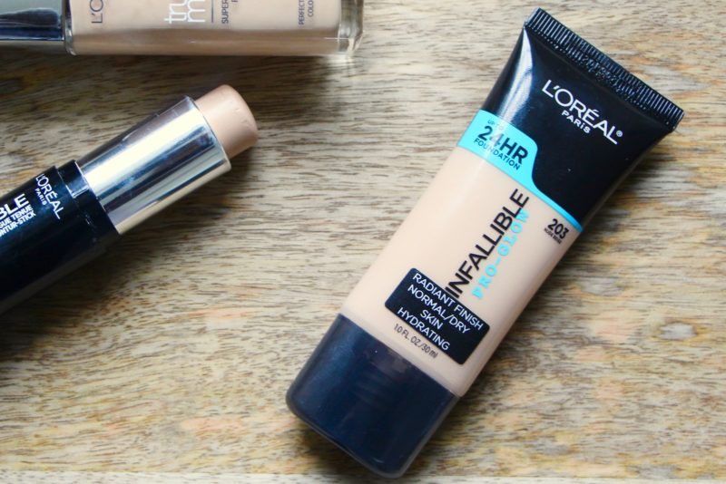 Foundation Review: L'Oreal Infallible Pro Glow