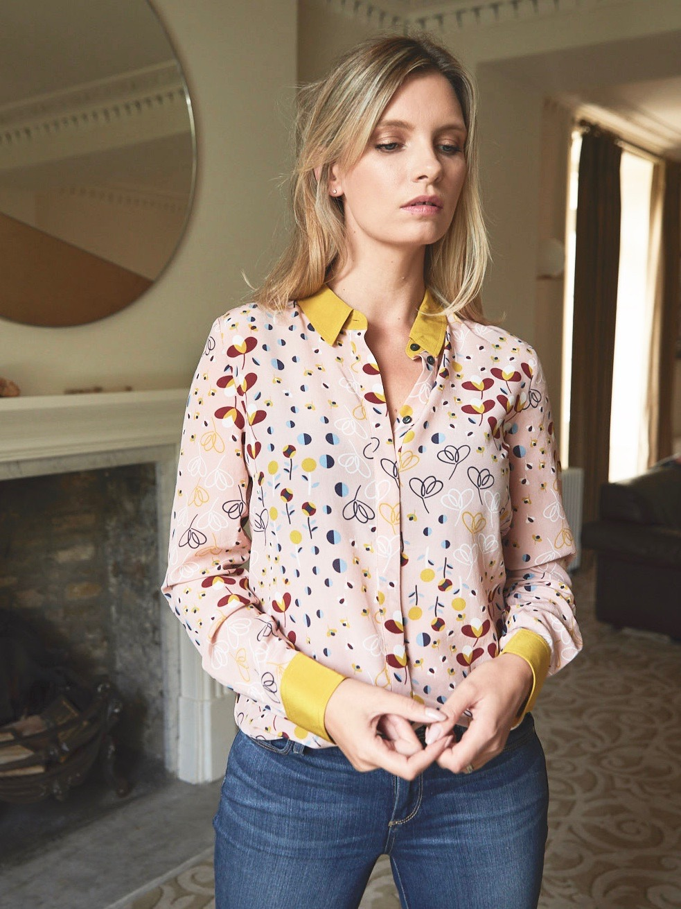 The Boden Silk Shirt
