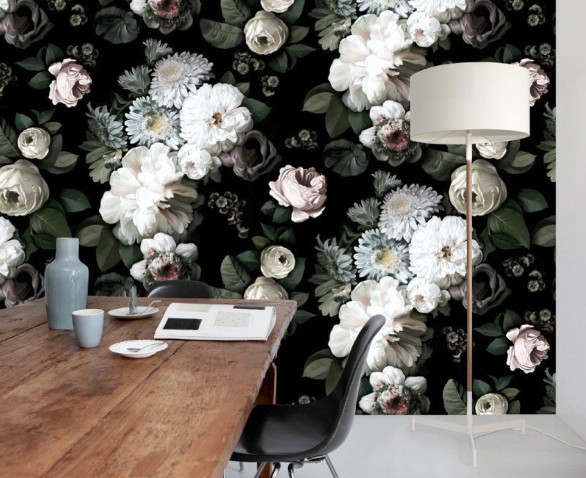 ellie cashman floral wallpaper