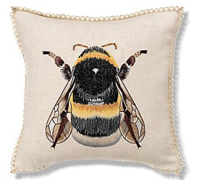 marks spencer bee cushion