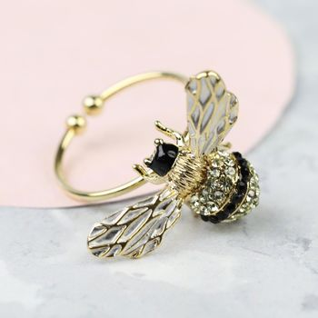 bee adjustable ring