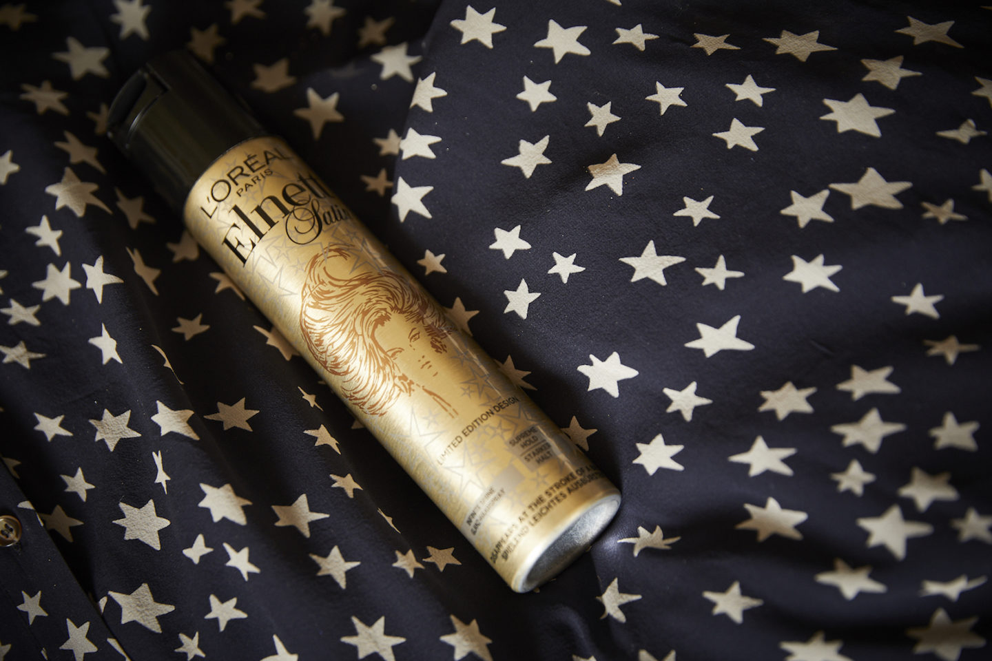 elnett starlight hair spray