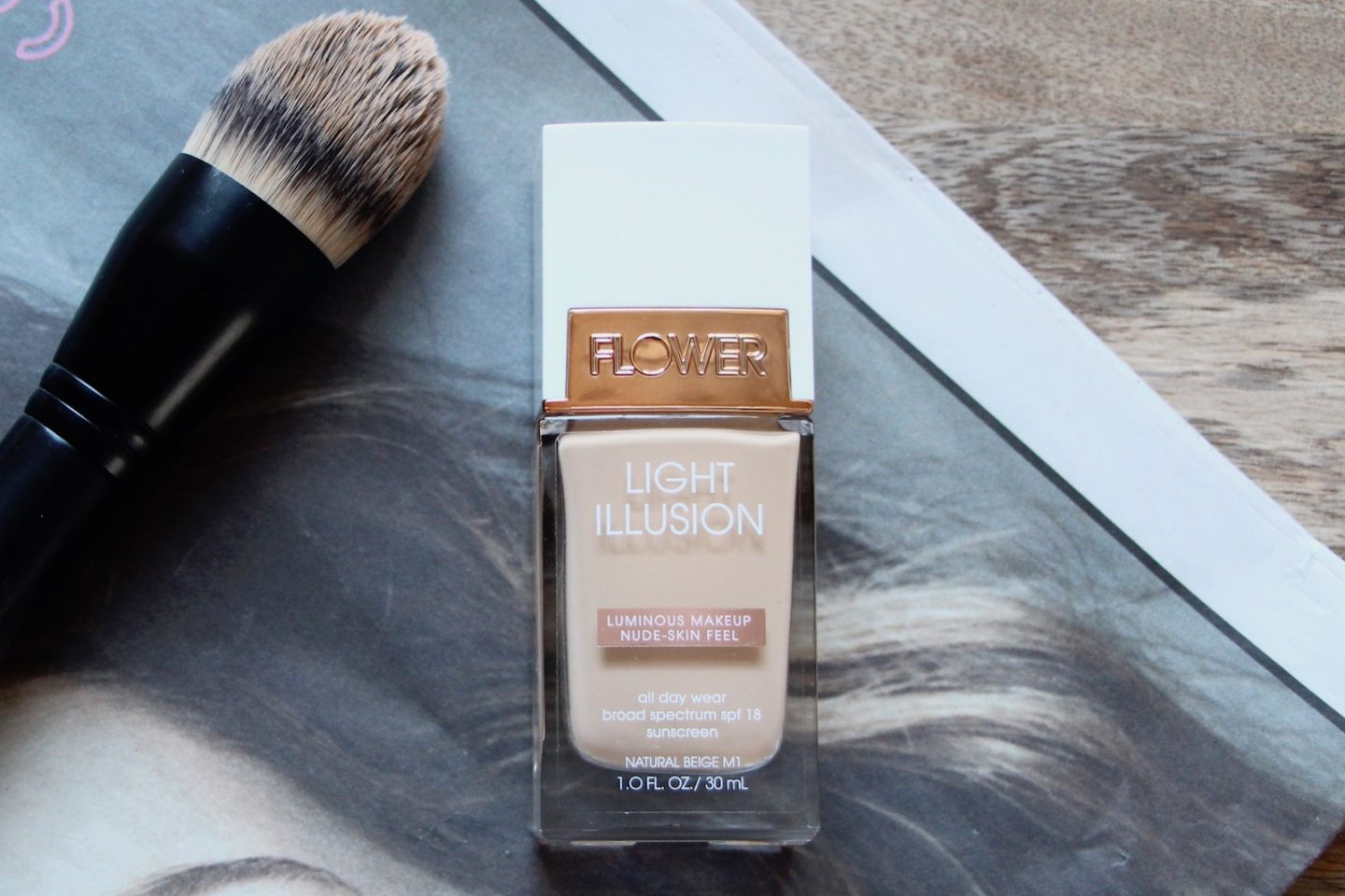 Flower Beauty Light Illusion foundation review