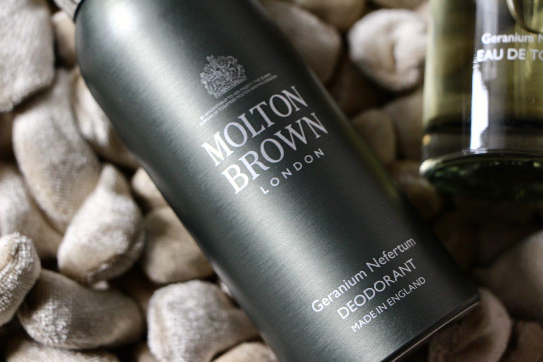 molton brown geranium nefertum review