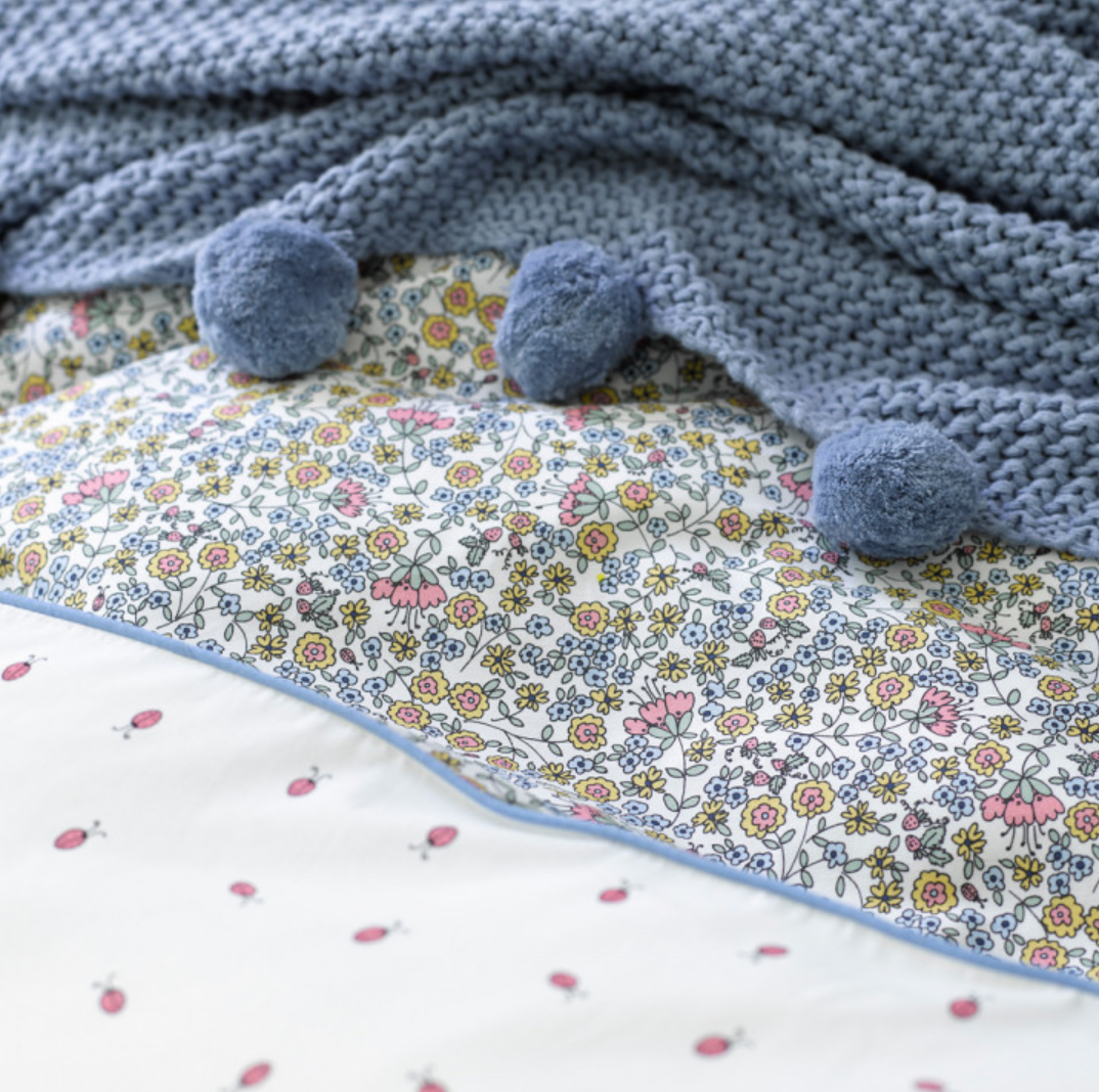 christy junior ladybird linen
