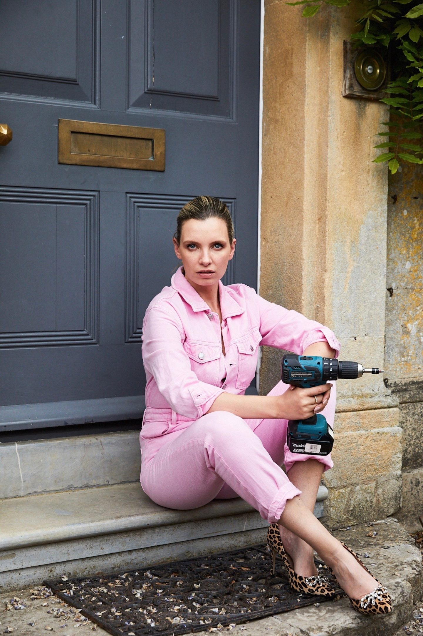 ruth crilly pink jumpsuit