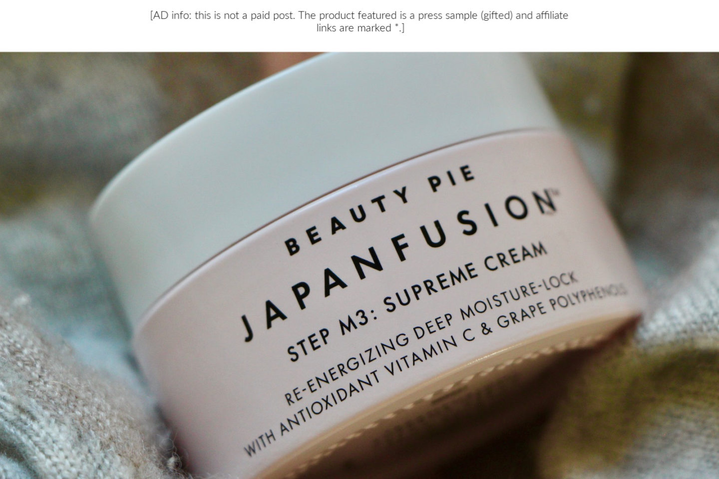 beauty pie japanfusion supreme cream