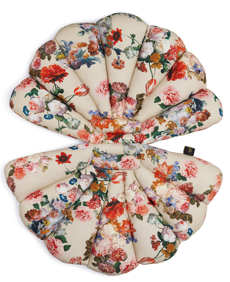 garden glory sea shell seat pad