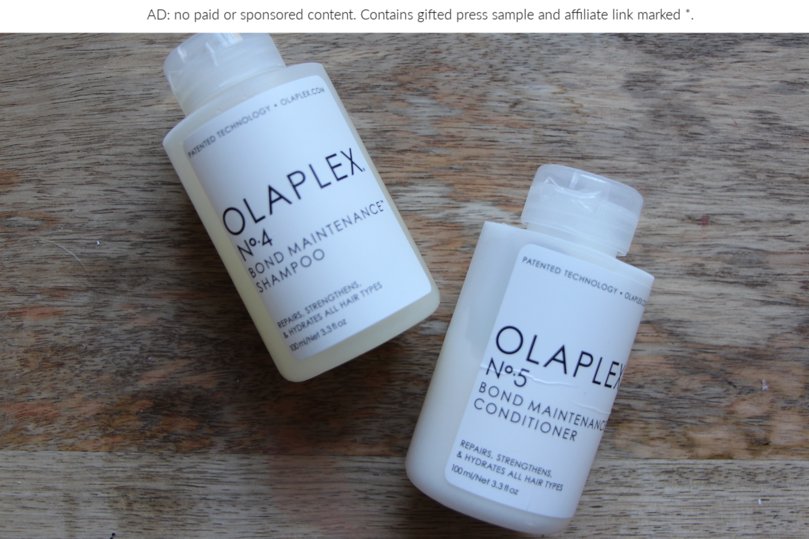 Haircare Review: Olaplex Bond Maintenance 4 & 5