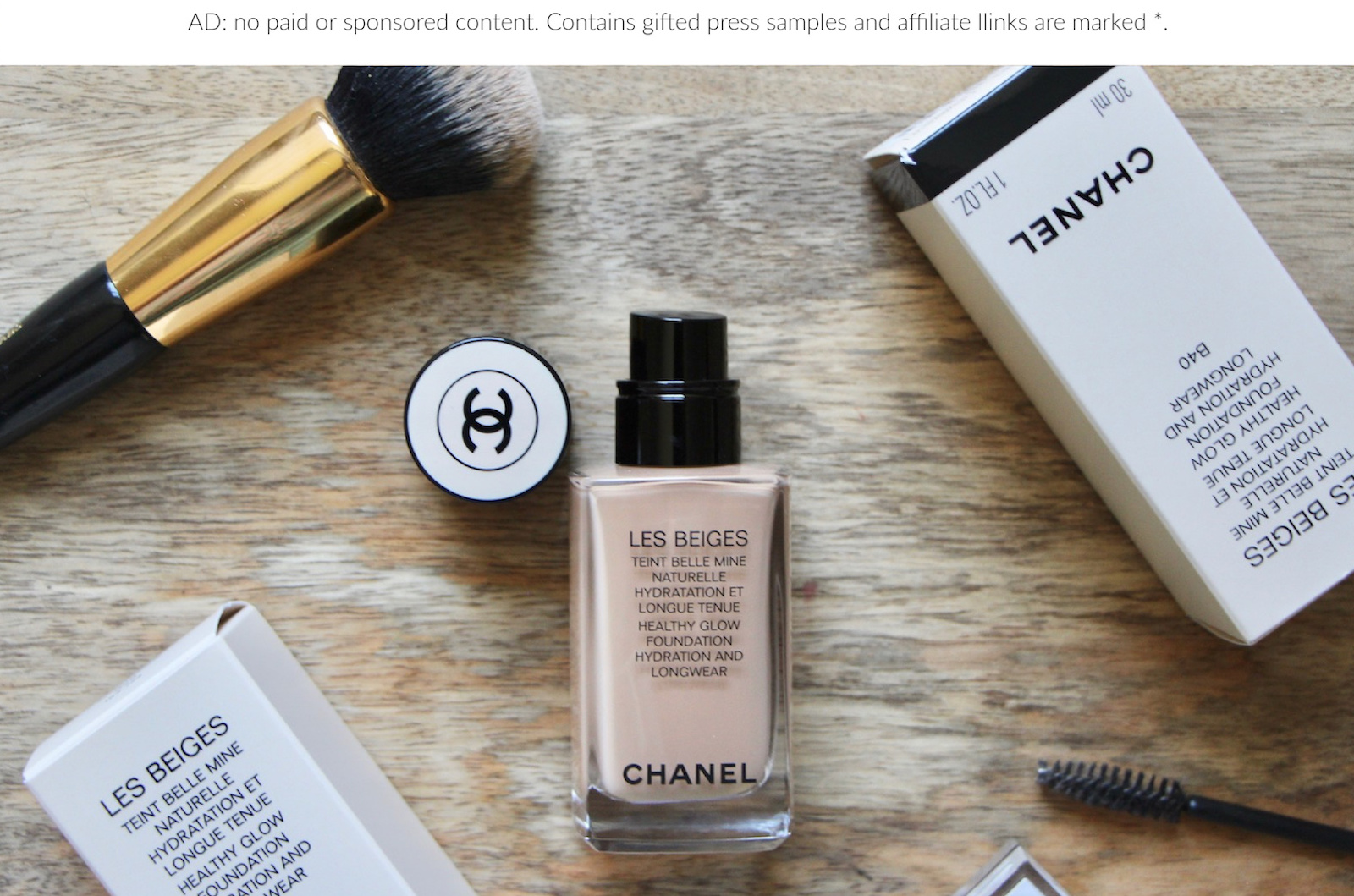 Chanel Les Beiges Healthy Glow Makeup